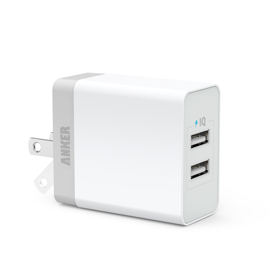 anker - Chargers - 2 Port Wall Charger, 20W # 1