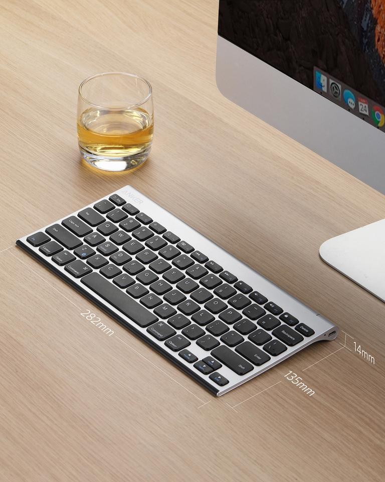 Anker Anker Ultra Compact Profile Wireless Bluetooth Keyboard