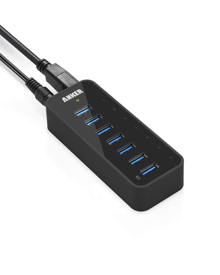 USB Hub Powered 3.0 SOWTECH 10 Ports USB 3.0 Hub 10 Ports Charging /& Data Transfer with ON//OFF Switch with UK Power Adapter for Macbook//Windows//Laptop//PC//Cellphones,ect