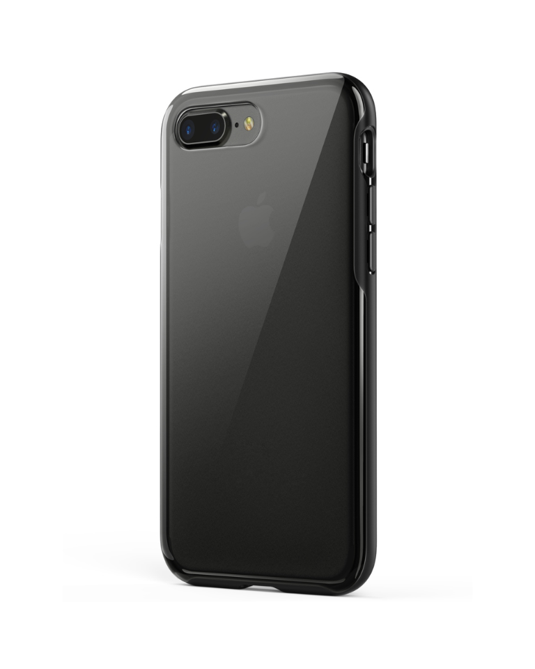 97d1b3c54b iPhone 8 Plus Case, iPhone 7 Plus Case, Anker KARAPAX Ice Case,  Semi-Transparent Hard Back and Soft Bumper [Support Wireless Charging] for iPhone  8 Plus ...