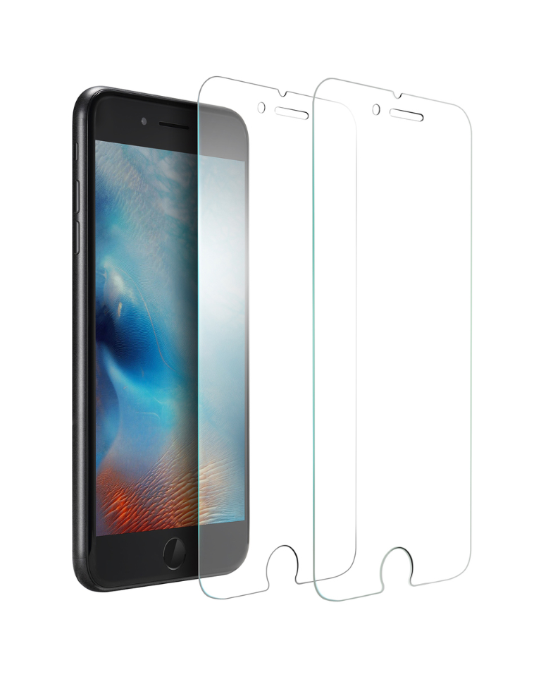 the latest 739c3 2049b Anker | Anker KARAPAX Tempered Screen Protector for iPhone 8 / 7 [2 ...