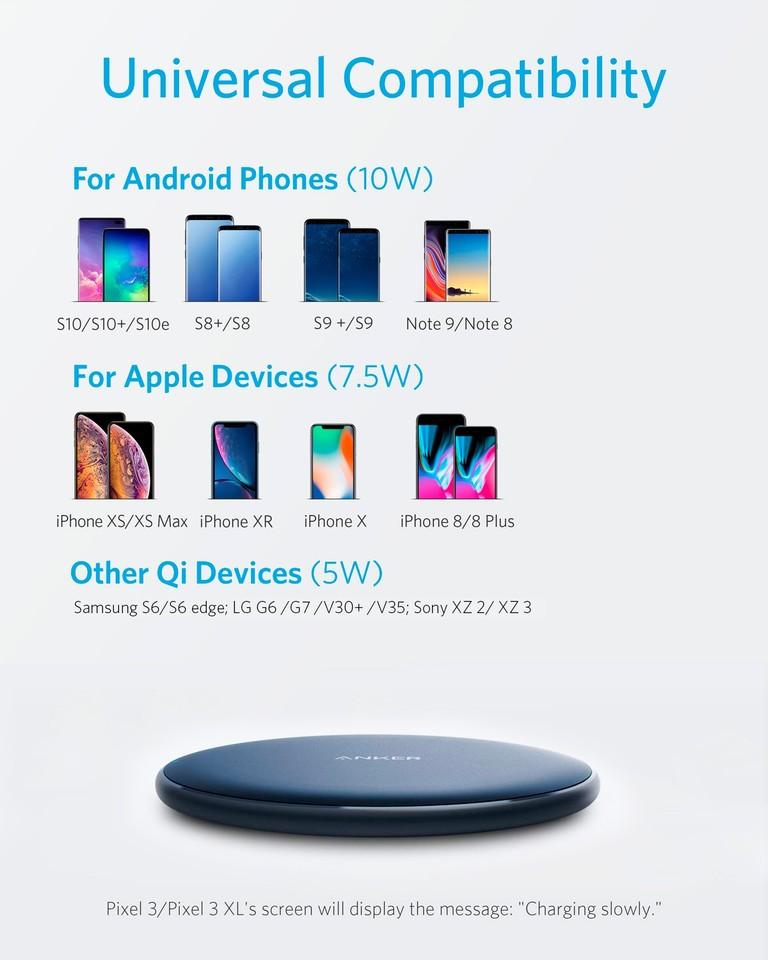 Anker 7 5w Wireless Charging Pad
