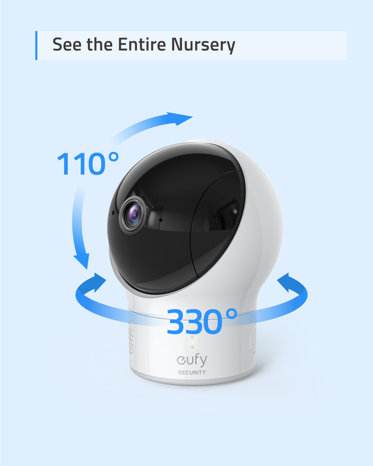 Baby Monitor eufy Security Spaceview S Video Monitor Peace of Mind for New Moms