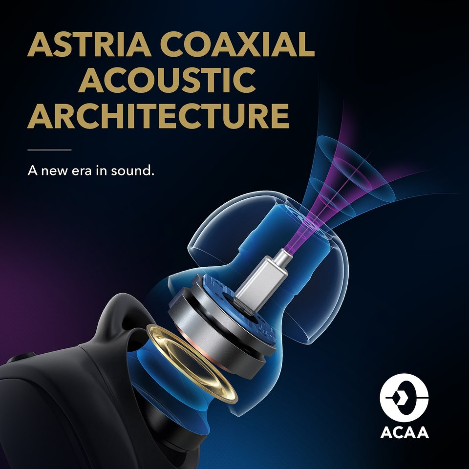 Astria Coaxial Acoustic Architecture (ACAA)