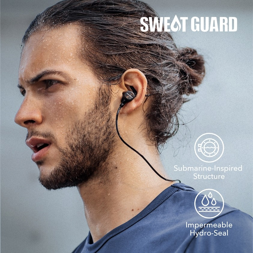 Soundcore Spirit Sports Earphones by Anker Bluetooth Headphones with...