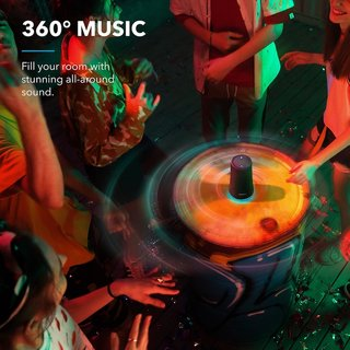 Soundcore Flare+ Portable 360° Bluetooth Speaker by Anker
