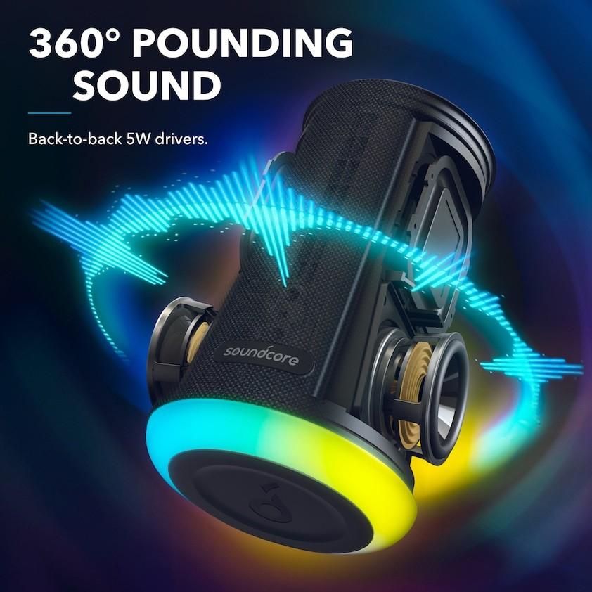 Anker Soundcore Flare Mini Bluetooth Speaker