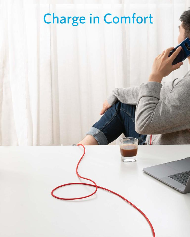 B8267091 Anker [2-Pack 10ft] Powerline+ USB-C to USB-A
