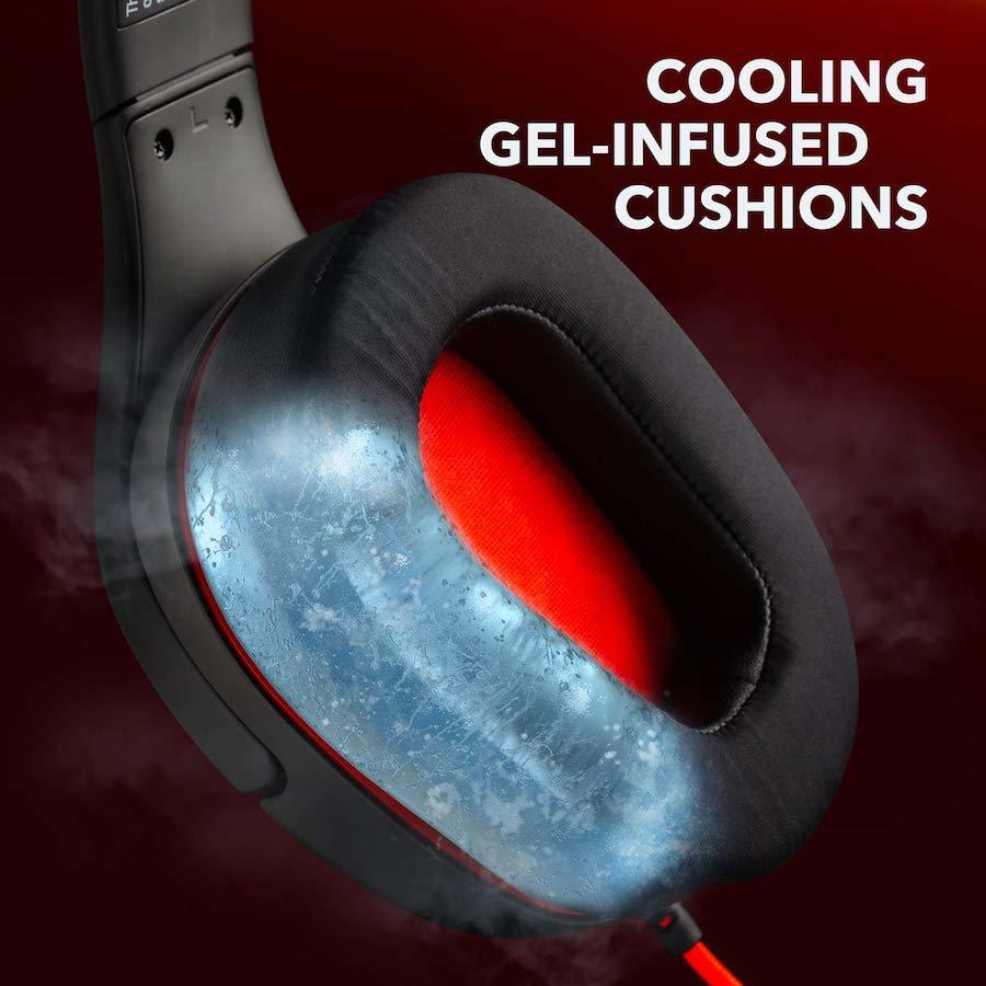 Gaming Headset Compatible with Xbox One Anker Soundcore Strike 1 Gaming Headset Noise Isolating Mic and PC Stereo Sound PS4 and Cooling Gel-Infused Cushions Sound Enhancement for FPS Games