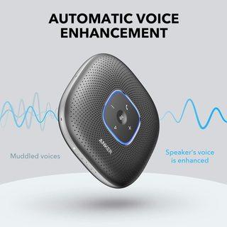 Automatic voice enhancement