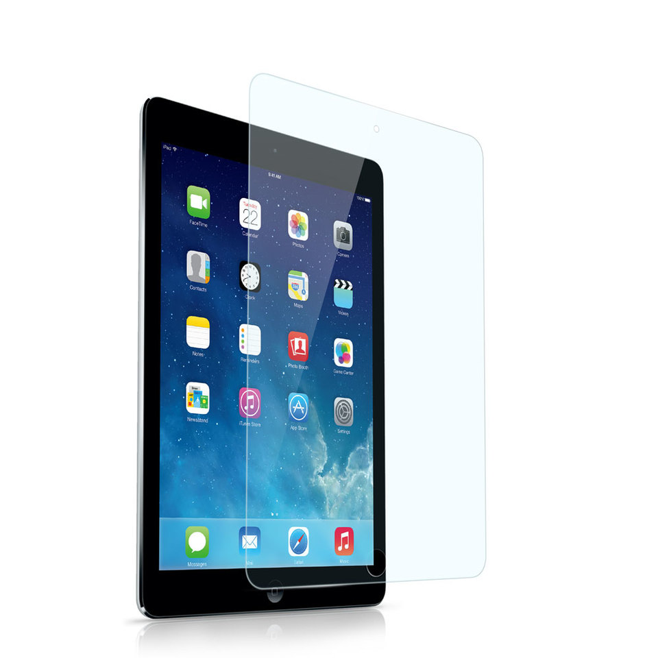 Screen Protective Film w// High Transparency Finish for iPad 2 iPad 3 HD 5 Pack