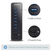 anker - Data Hub - 7-Port USB 3.0 Data Hub # 6