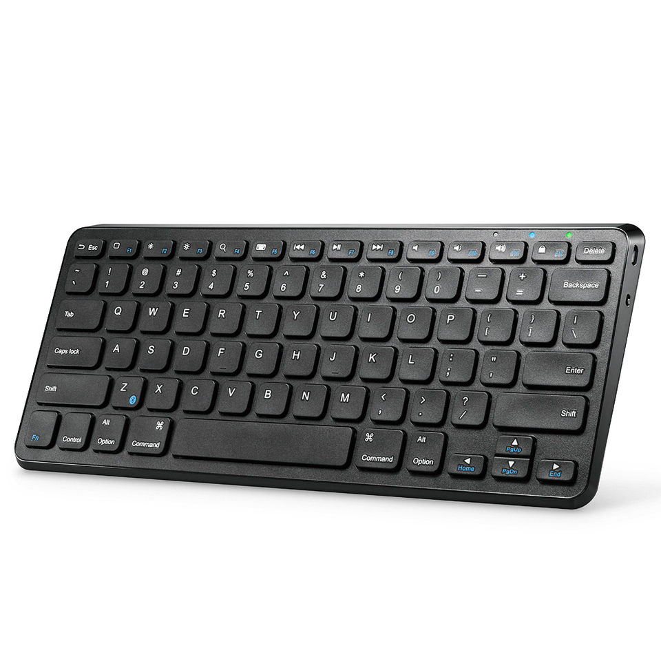 anker ultra compact slim profile wireless bluetooth keyboard. Black Bedroom Furniture Sets. Home Design Ideas