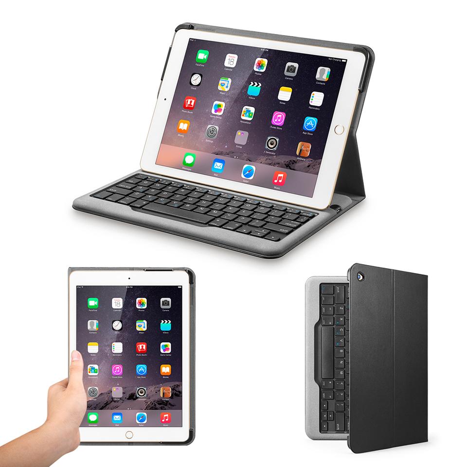 eb93c0232c0 Anker | Bluetooth Folio Keyboard Case for iPad Air 2