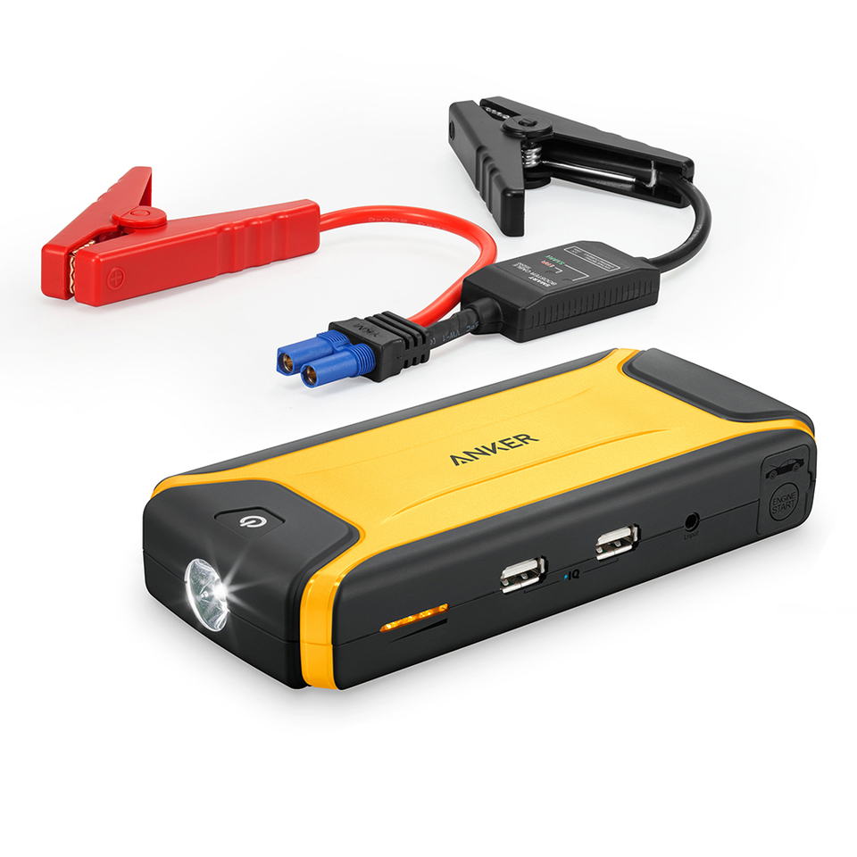 Car Jump Pack >> Anker Compact Car Jump Starter And Portable Charger